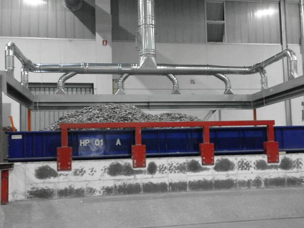 Impianti di aspirazione polveri industriali