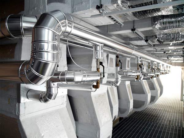 Impianti trattamento aria camere bianche, sale operatorie e ambienti ospedalieri
